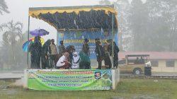 Prosesi Hukuman Cambuk di Kota Jantho, Aceh Besar